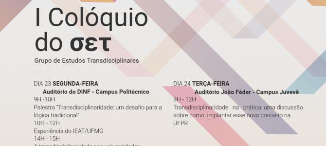 UFPR recebe primeiro evento sobre transdisciplinaridade