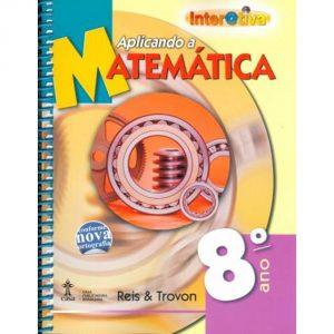 Capa de um livro de matemática encadernado com espiral.