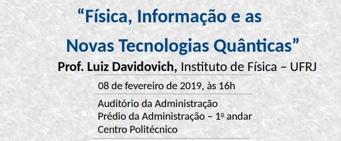 Colóquio de Encerramento da Escola de Verão de Física de Curitiba