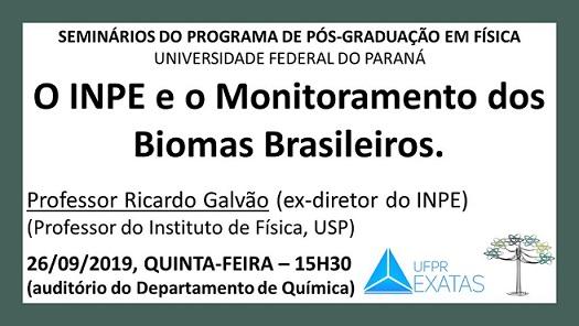 PALESTRA COM PROFESSOR RICARDO GALVÃO