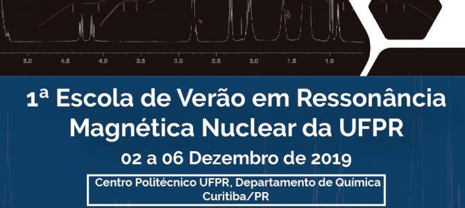 """Primeira edição da """"Escola de Verão em Ressonância Magnética Nuclear"""" é realizada na Universidade Federal do Paraná"""